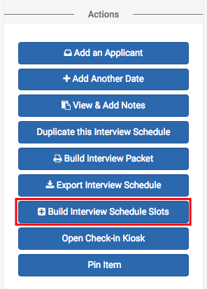 how to create interview templates by day handshake help center