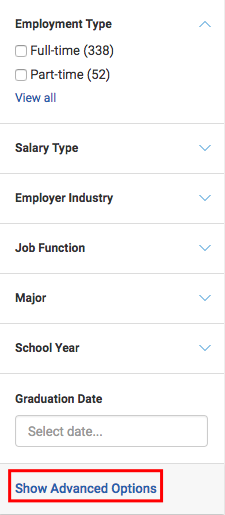 Click View All To See All Of The Labels Your Career Center Has Applied To  Jobs