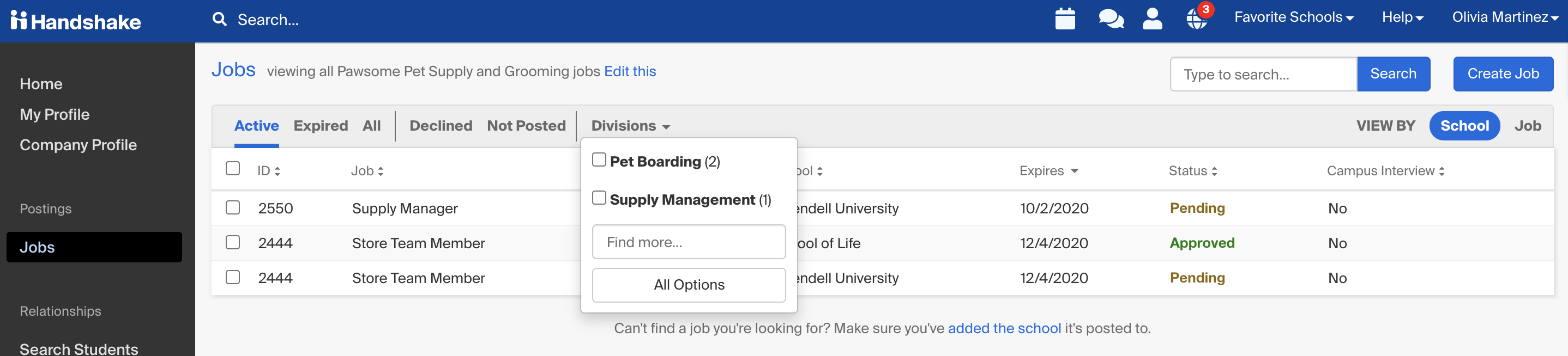 jobs_page_division_filter.png