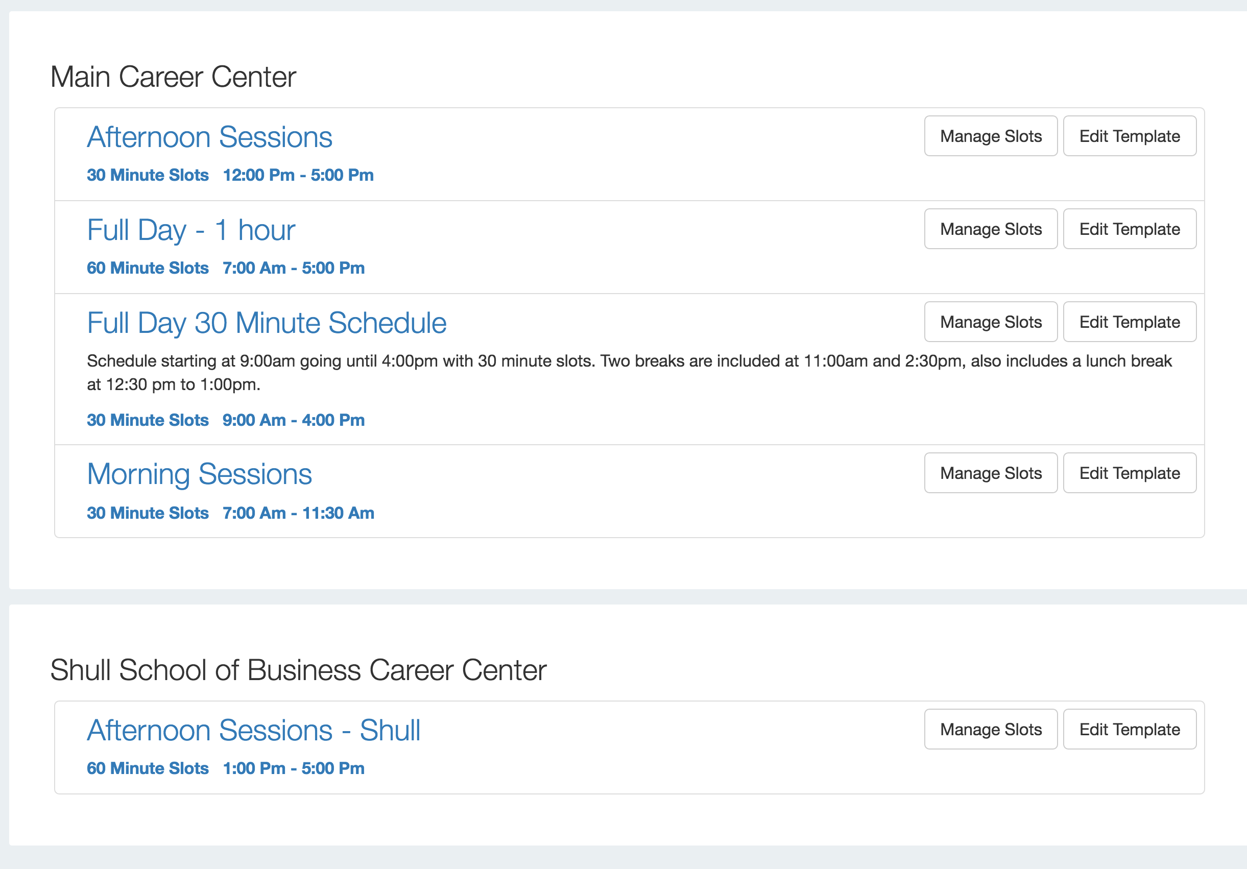 Distributed Campus Interview Schedule Timelines and Templates – Sample Interview Schedule Template